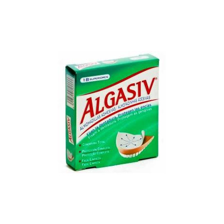 Algasiv dentadura superior 18 u