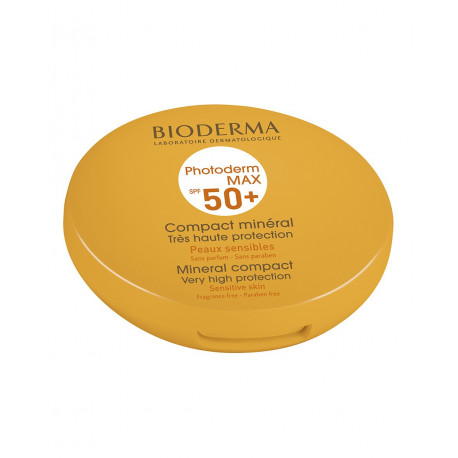 Bioderma Photoderm Max 50+ Compact mineral. Teinte Claire.