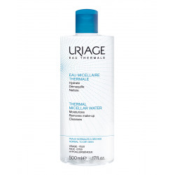 EAU MICELLAIRE THERMALE Agua micelar limpiadora normal/seca 500 ml