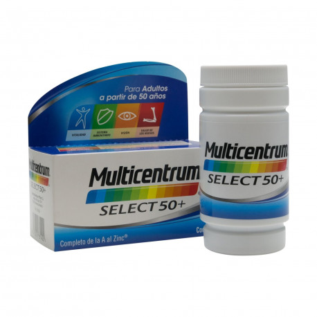 Multicentrum Luteína Select 50+ 30 Comprimidos