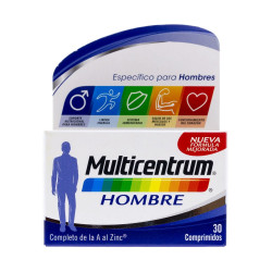 multicentrum hombre select 30cp