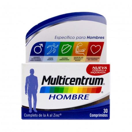 Multicentrum Hombre 30comp