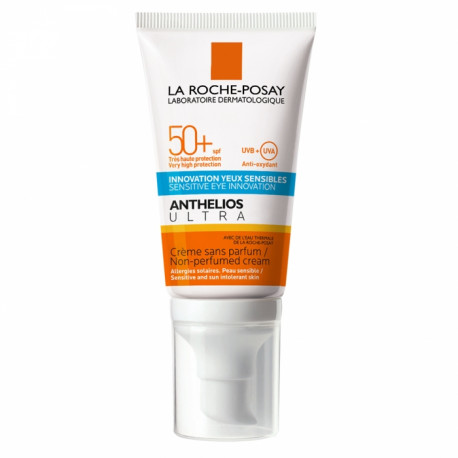 Anthelios Ultra SPF50+ Protector Solar en Crema Sin Perfume 50ml