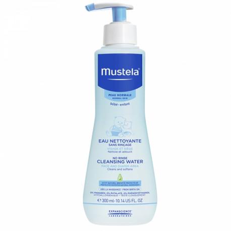 Mustela Agua Limpiadora sin aclarado 300ml