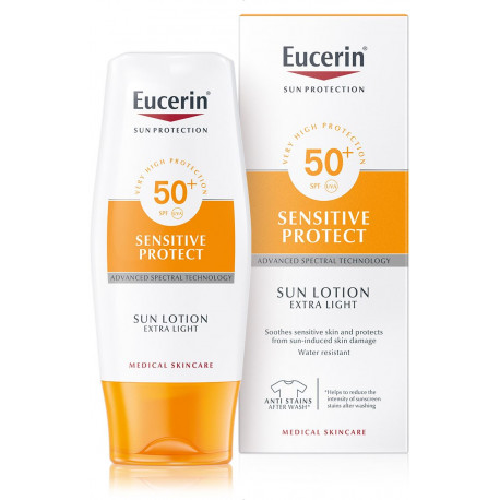 Eucerin Sun Lotion Extra Light Photoaging Control FPS 50+ 150 ml