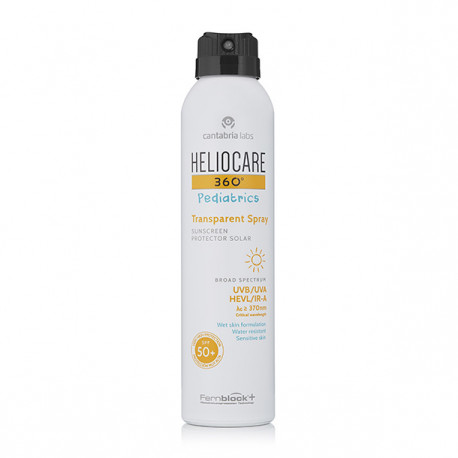 Heliocare 360 pediatrics 50+ transparente 200ml