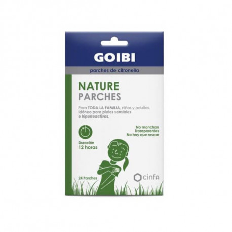 Goibi Nature Parches Citronella 24 Uds