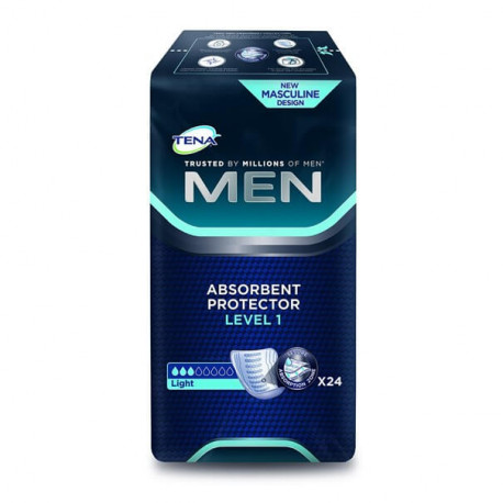 Tena men protector absorbente level 1 24 uds