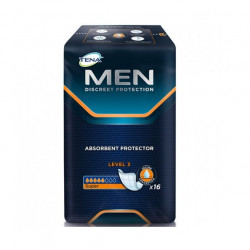 Tena men protector absorbente level 3 16 uds