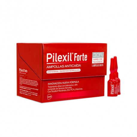 Pilexil forte caida viales
