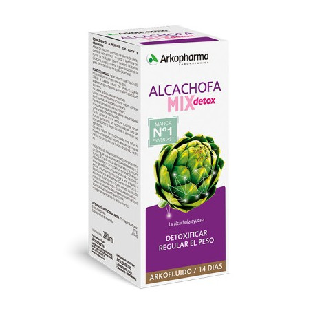 Alcachofa MIX Detox Arkofluido 280 ml
