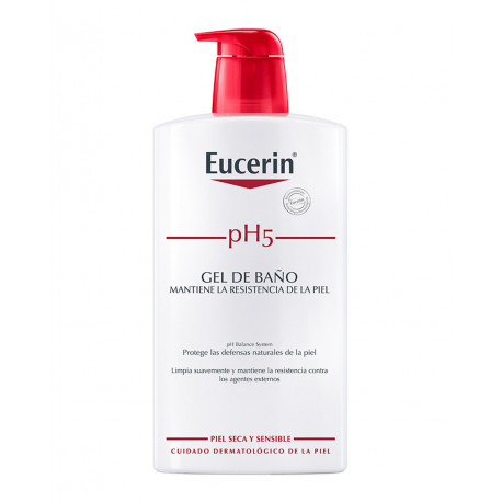 Eucerin pH5 Skin-Protection Gel de baño 1L