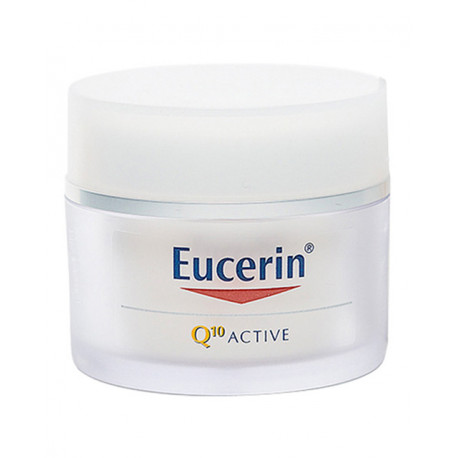 Eucerin Q10 ACTIVE Crema dia piel seca + contorno ojo