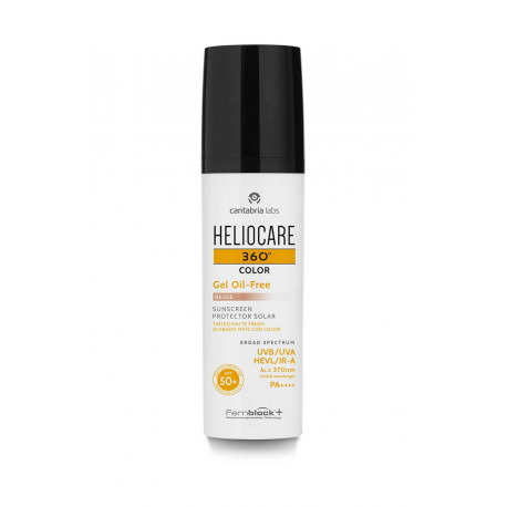 Heliocare 360 Color Gel Oil-Free SPF 50+