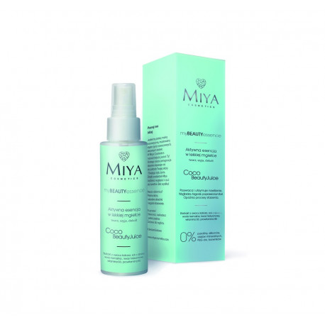 Bruma hidratante myBEAUTYessence Miya Coco Beauty Juice