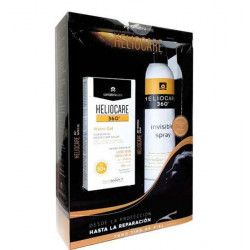 Heliocare 360 Pack Water Gel Spf50 + Spray Transparente Spf50