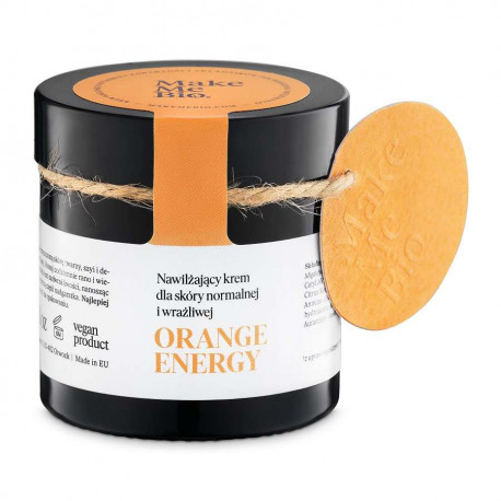 Crema facial ecologica Orange Energy Make Me Bio
