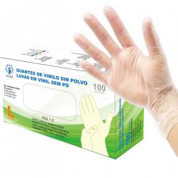 Guantes de Nitrilo sin polvo talla S