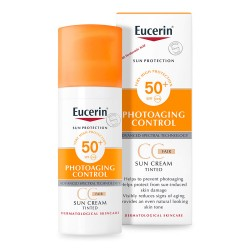 EUCERIN SUN CREMA CC CON COLOR FPS50+ 50 ML