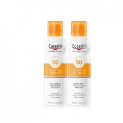 Eucerin Sun Spray Transparent Spf50 Duplo 200 + 200 ml