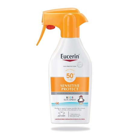 Eucerin Sensitive Protect Kids Sun Spray Spf50 300ml