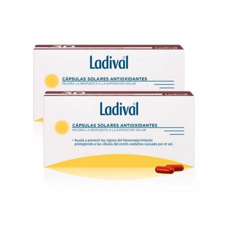 Ladival Capsulas Solares Antioxidantes Duplo 30+30 Unidades