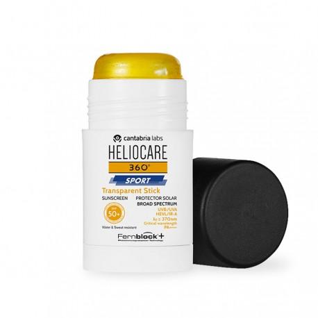 Heliocare 360 Sport Transparent Stick Spf50+ 25g