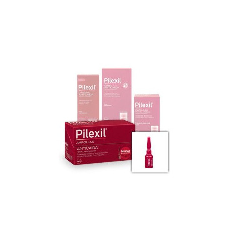 pilexil 15 ampollas 5ml+5ampollas gratis