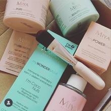 En la variedad está el gusto. ¿Cuál de los productos @miyacosmetics es el tuyo? #cosmeticavegana #cosméticanatural #cruetlyfreebeauty